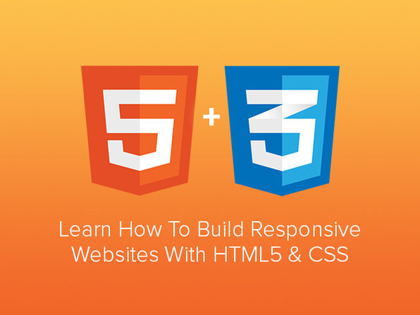 Learn to Build Responsive Websites with HTML5 & CSS - Product Image