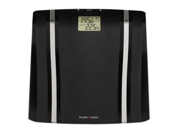 Health o meter BFM080DQ-05 LCD Display Body Fat Hydration Level Scale, Black - Product Image