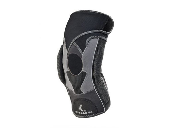 Mueller Sport Care Hg80 Premium Bidirectional Adjustable Knee Brace, Large Size, Black