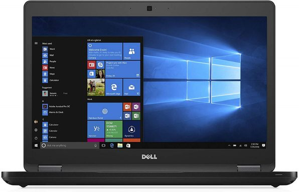 "Dell Latitude 5480 14"" Laptop, 2.4GHz Intel i5 Dual Core Gen 6, 4GB RAM, 128GB SSD, Windows 10 Home 64 Bit (Renewed)"