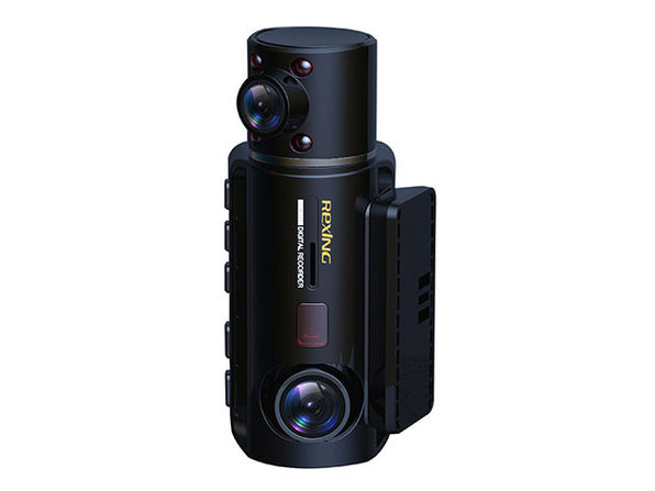 Rexing® V3 Dual Full HD WiFi Dash Cam