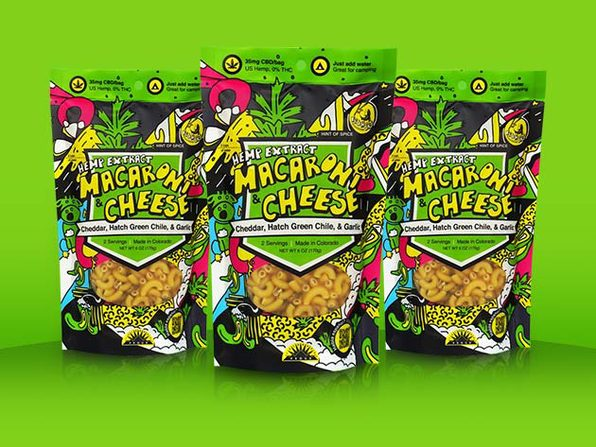 Hemp Extract Mac & Cheese With 35mg CBD