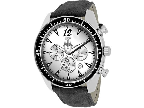 Jivago Men's Timeless Silver Dial Watch - JV4510
