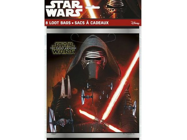 Star Wars Force Awakens Loot Bags - Product Image