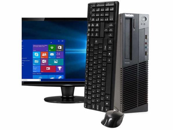 "Lenovo ThinkCentre M92 Desktop PC, 3.2GHz Intel i5 Quad Core Gen 3, 16GB RAM, 2TB SATA HD, Windows 10 Professional 64 bit, 22"" Widescreen Screen (Renewed)"