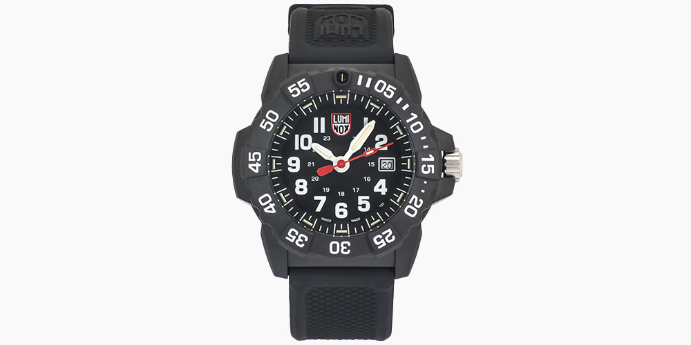Luminox Navy SEAL 3500 Series Quartz Men's Watch XS.3501.L (Store-Display Model) on sale for $199 (49% off)