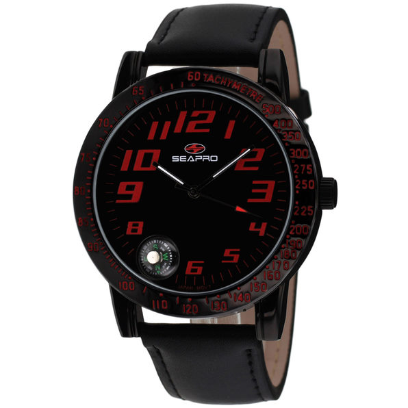 Seapro Men's Raceway Black Dial Watch - SP5114