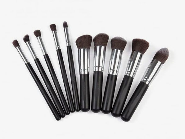 Makeup Brush 10-Piece Set