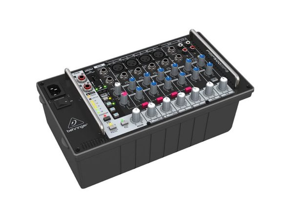 Behringer Europower PMP500MP3 500W 8-Channel Powered Mixer (Distressed Box)