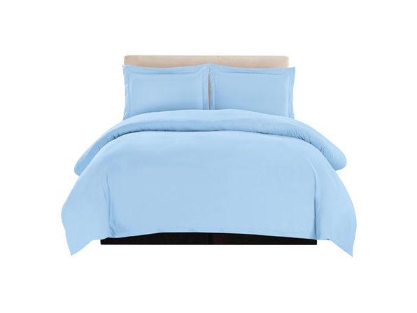Lux Decor Collection 3-Piece Blue Duvet Cover Set