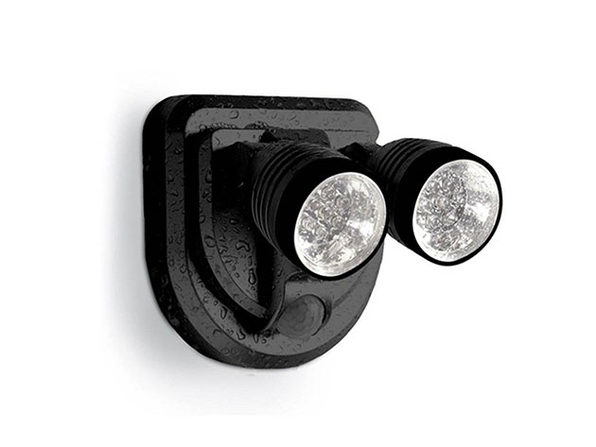 Dual LED 360 Degree Spotlight - Black - Product Image