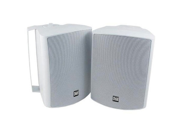 Dual LU53PW 5.25 inch Indoor/Outdoor 3-Way Dynamic Loudspeakers - White - Product Image