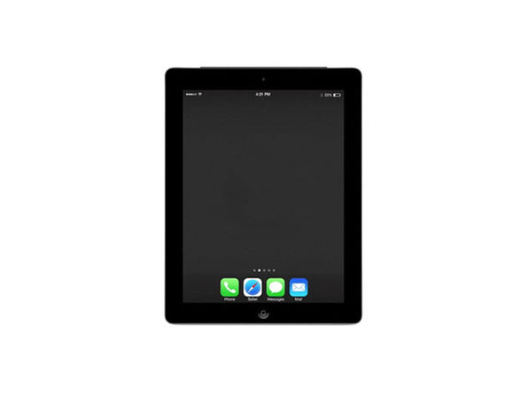 Refurbished iPad 4 16GB Black - Good Condition - Product Image