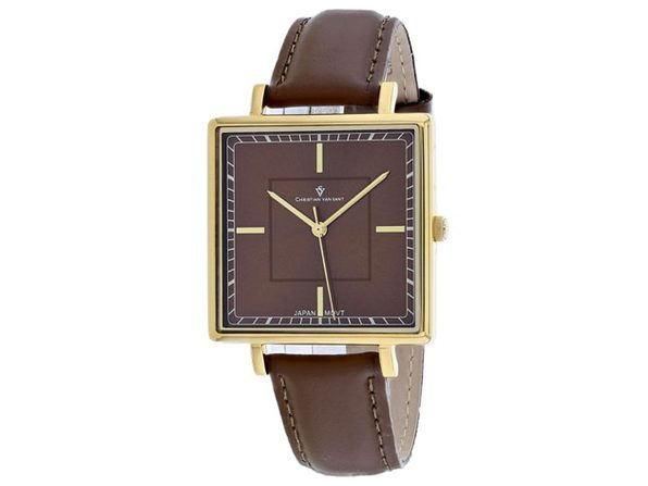 Christian Van Sant Women's Callista Brown Dial Watch - CV0416