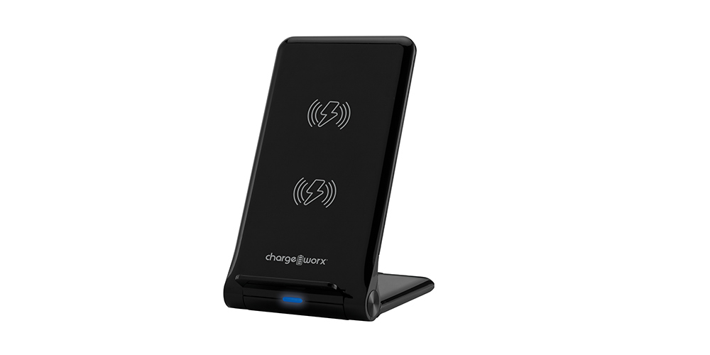 ChargeWorx Wireless Charging Stand, on sale for $19.99 (50% off)