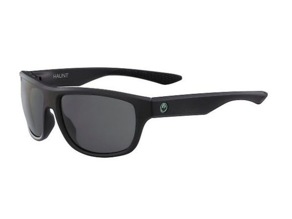Dragon Haunt 32742-002 Men's Sunglasses Matte Black Frame and Lens - Black