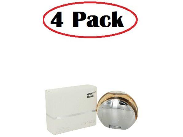 4 Pack of Presence by Mont Blanc Eau De Toilette Spray 2.5 oz - Product Image