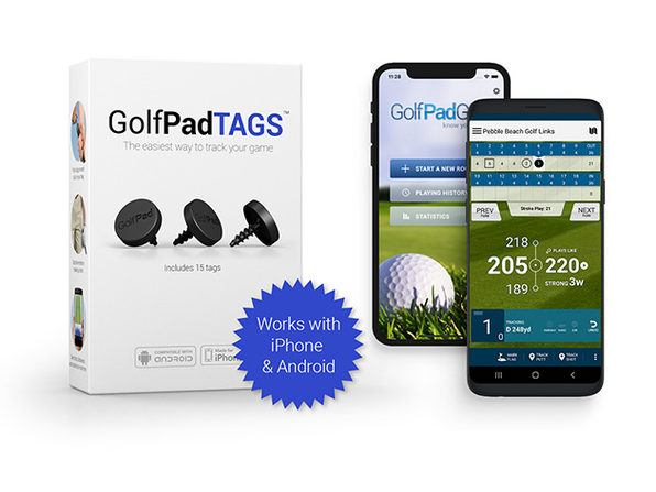 Golf Pad TAGS Automatic Game Tracking System
