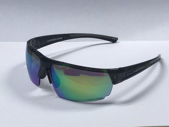 Rawlings 10230543.INT Mens Sport Sunglasses  Black/Green - Black