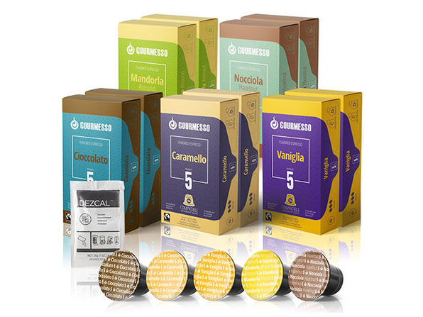 Gourmesso Flavored K-Cup 10-Pack Bundle: Classic Flavors