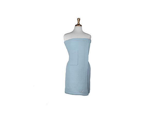 Parise Cotton Terry Bath Wrap Sky , 1 Piece - Product Image