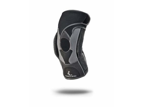 Mueller Hg80 Premium Left or Right Knee Brace with Hinge and Adjustable Straps, X-Large: 18 Inches - 20 Inches, Black