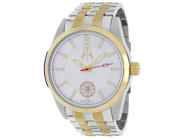 Jivago Men's Rush Silver Dial Watch - JV7112