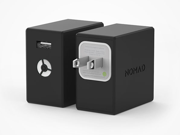 NomadPlus Smartphone Wall Charger & Battery Pack