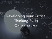 Developing Your Critical Thinking Skills - Product Image