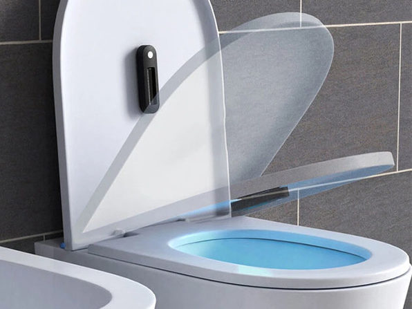 Mini UV-C Sterilizer Light for Toilets & Trash Cans: 2-Pack