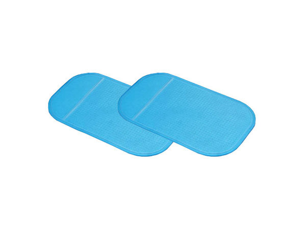 Non-Slip Dashboard Pad: 2-Pack (Blue)
