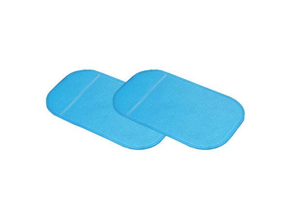 Non-Slip Dashboard Pad: 2-Pack (Blue)