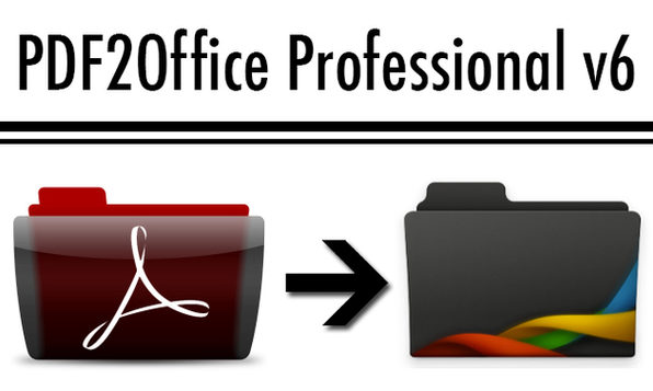 Edit PDF Files with PDF2Office Professional v6 - Product Image