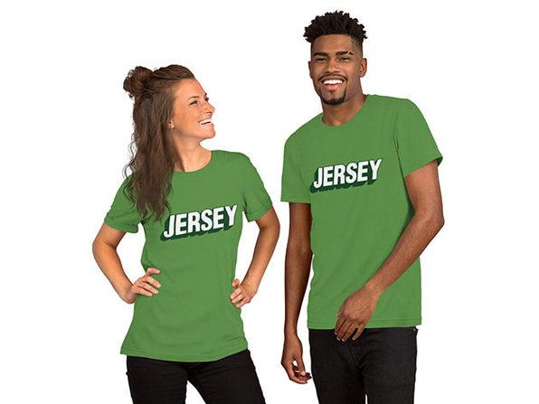 JERSEY Unisex T-Shirt – Leaf (XL)