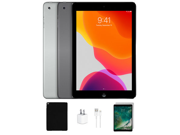 IPAD AIR 16GB SILVER WIFI ONLY bundle - Product Image