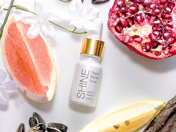 SHINE Organic Brightening Oil, Jasmine Scent