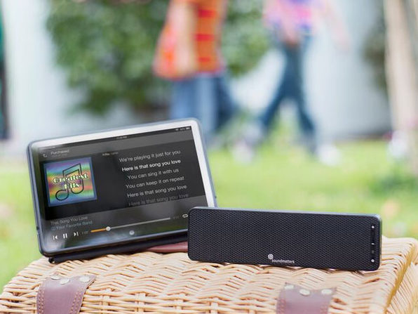 DASH A: World's Flattest Portable Speaker
