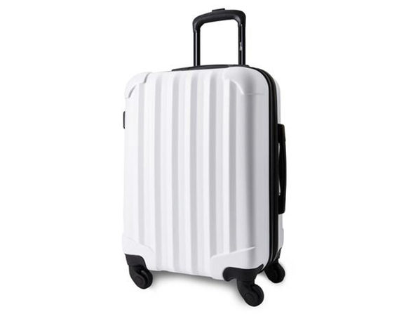 Genius Pack Aerial Hardside Carry On Spinner (Matte White)