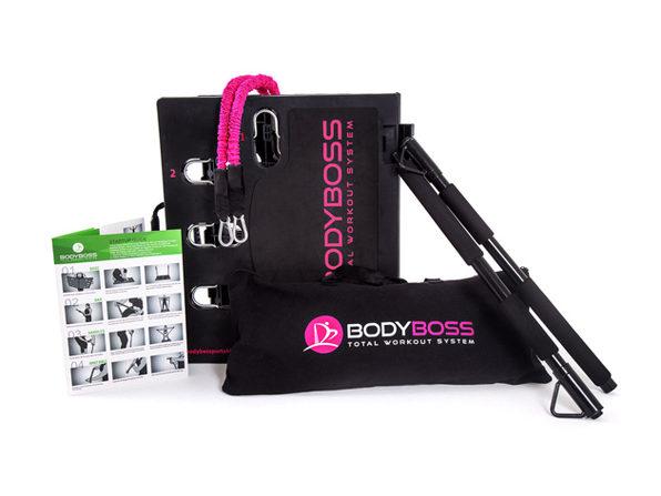 BodyBoss 2.0 Portable Home Gym (Pink)