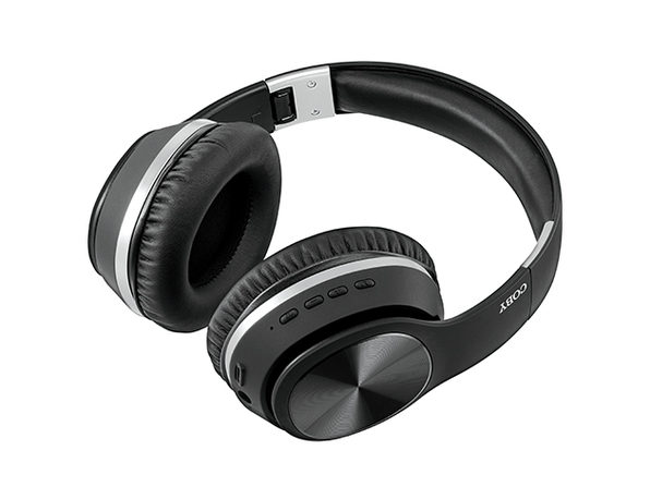 Coby Noise-Cancelling Wireless Headphones