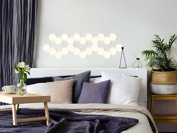 Helios Touch: Modular Touch Wall Lighting (24-Pack/Warm White)