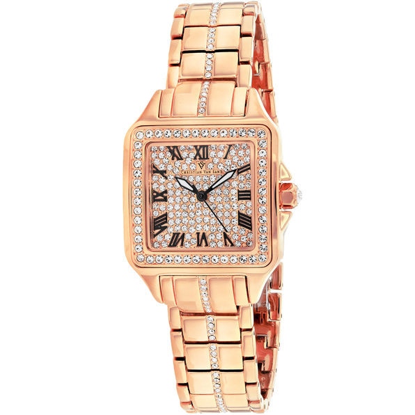 Christian Van Sant Women's Splendeur Rose gold Dial Watch - CV4622