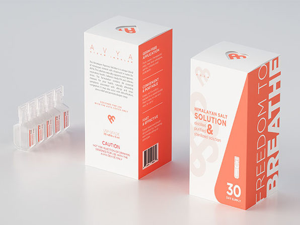 AVYA Nasal Saline Solution (Himalayan Aqueous)