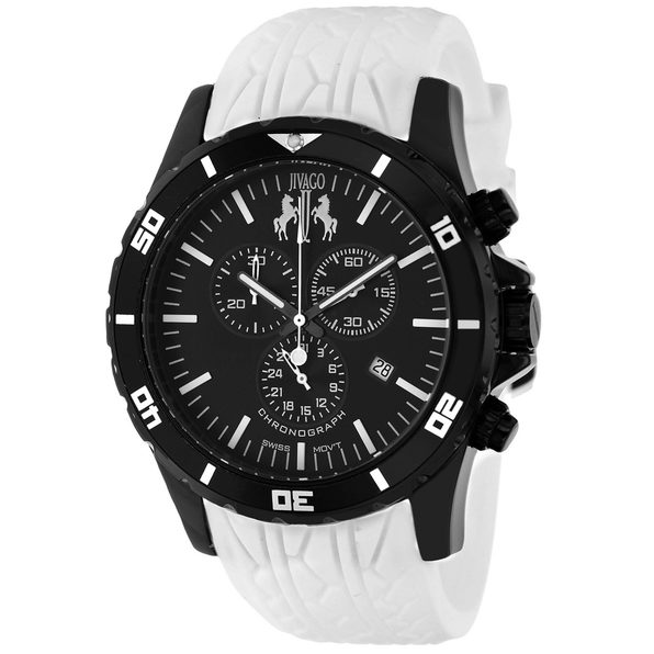 Jivago Men's Ultimate Black Dial Watch - JV0124 - Product Image