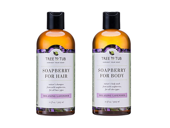 Tree To Tub Organic Soapberry Bath Sets Stacksocial