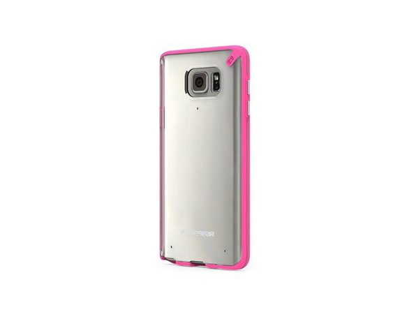PureGear Slim Shell Case for Samsung Galaxy Note 5 - Clear/Pink