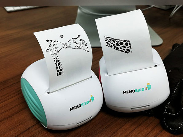 MEMOBIRD Mobile Thermal Printer Bundle