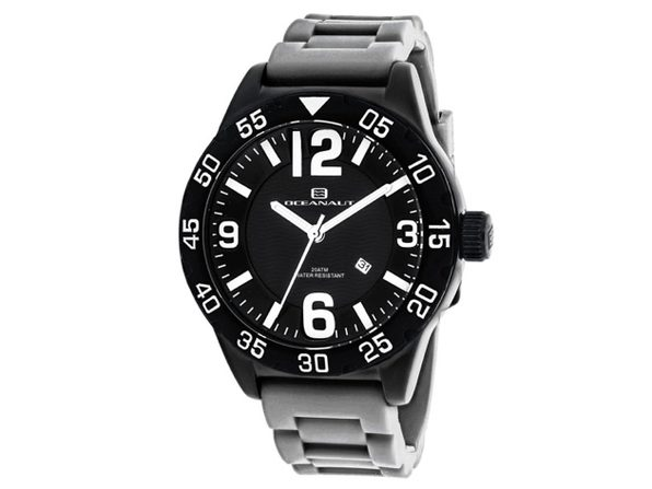Oceanaut Men's Black Dial Watch - OC2717 - Product Image