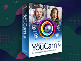 CyberLink YouCam 9 Deluxe for Windows: Lifetime Subscription
