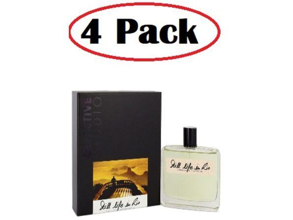 4 Pack of Still Life Rio by Olfactive Studio Eau De Parfum Spray 3.4 oz - Product Image